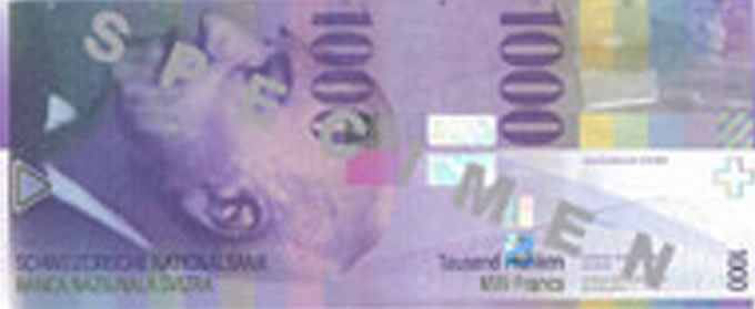 CHF 1000.00 PAYMENT UNIT