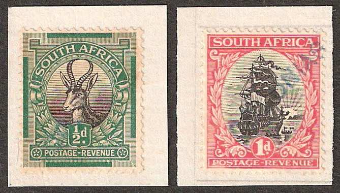 SOUTH AFRICA 1926 PORTUGUESE GOA UPU ARCHIVE SPECIMENS