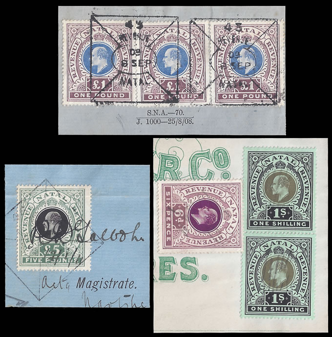NATAL REVENUES 1909-11 KEVII REVENUE/REVENUE VALUES