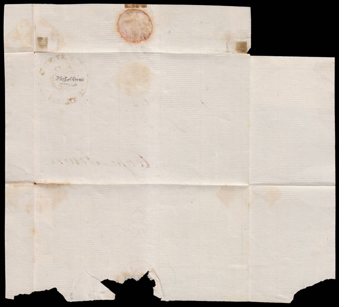 CAPE OF GOOD HOPE 1820 DONKIN GOVERNORS LETTER EX CLANWILLIAM