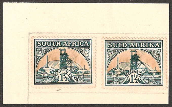 SOUTH AFRICA 1936 1½D PORTUGUESE GOA ARCHIVE SPECIMENS