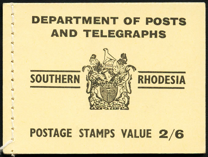 Southern Rhodesia Booklet 1954 2/6