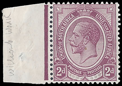 SOUTH AFRICA 1913 KGV 2D WITHOUT WATERMARK, 80 POSSIBLE