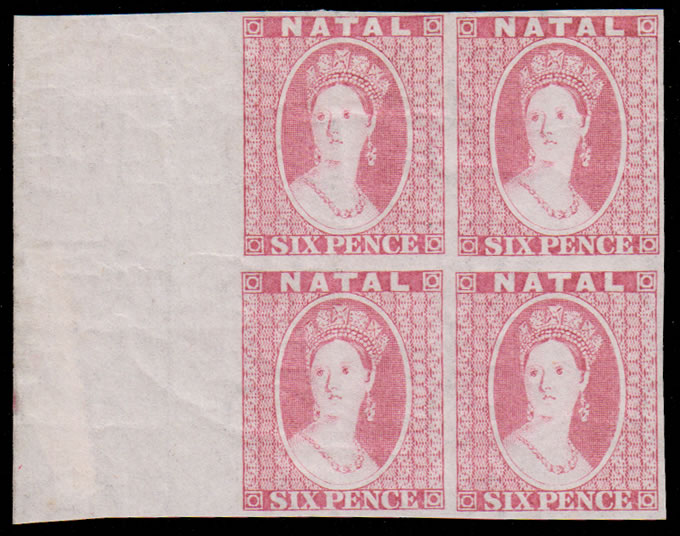 NATAL REVENUES 6D CHALON HEAD PLATE PROOF BLOCK WITH CERT