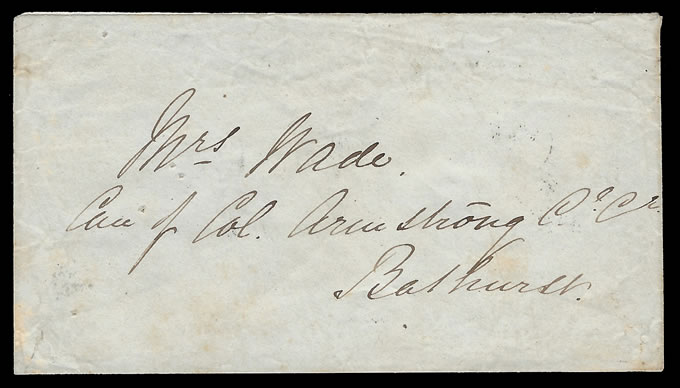 Cape of Good Hope 1859 Charming 4d Triangular Letter