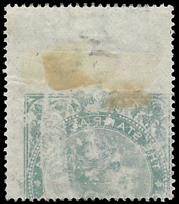 CAPE OF GOOD HOPE 1873 QV 3/- OFFSET VARIETY