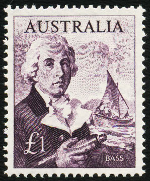 AUSTRALIA 1964 £1 ON WHITE PAPER VF/UM