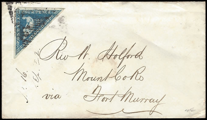 Cape of Good Hope 1858 Missionary Letter to Rev W Holford