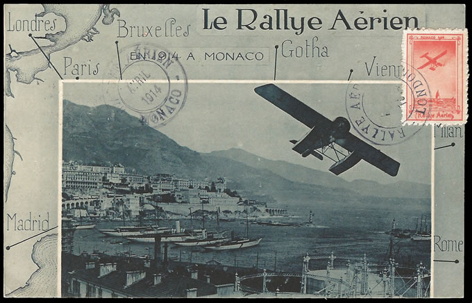 """RALLYE AÈRIEN"" MONAKO APRIL 1914"