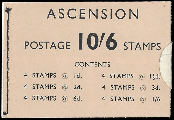 ASCENSION 1963 10/6 BOOKLET VF COMPLETE