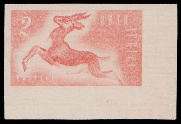SOUTH AFRICA 1953 KONYA ESSAYS LEAPING SPRINGBUCK