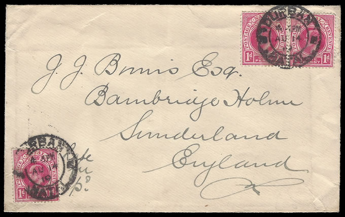 South Africa 1910 Interprovincial Period Late Fee