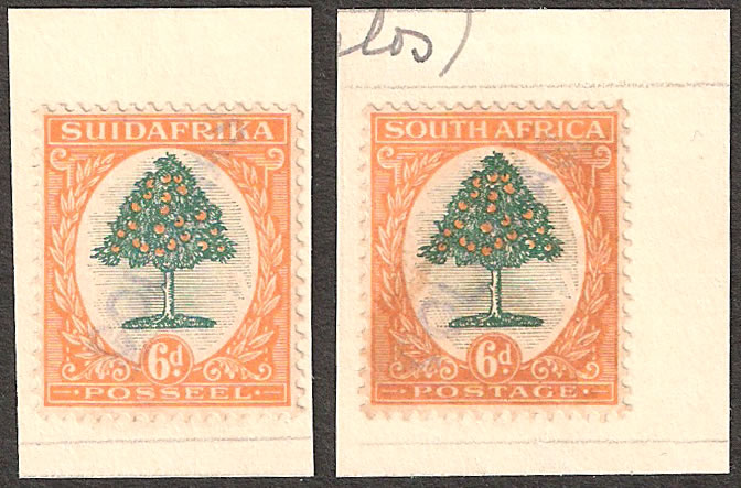SOUTH AFRICA 1926 6D PORTUGUESE GOA UPU ARCHIVE SPECIMENS